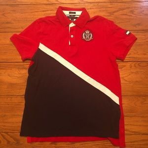 Men's Tommy Hilfiger Polo Big Emblem Sz.M